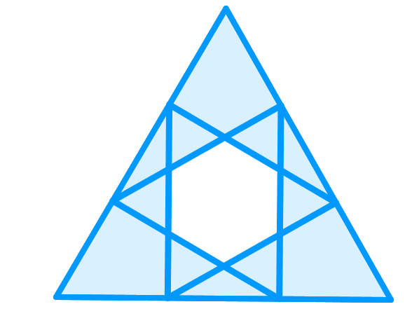 magen david in triangle